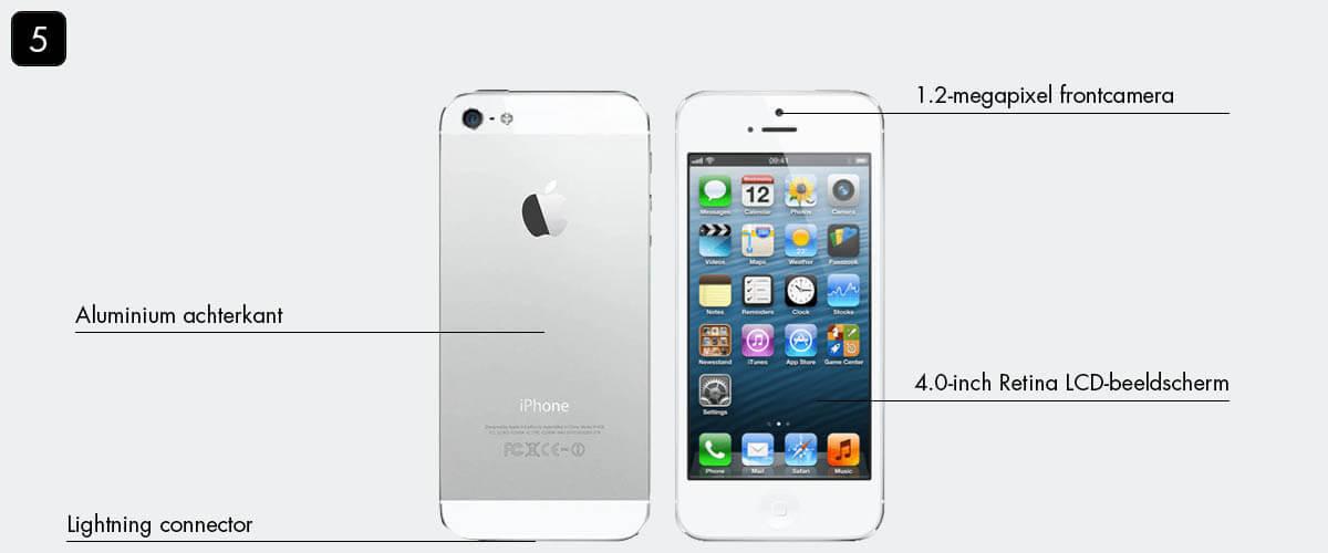 iPhone tijdlijn: iPhone 5
