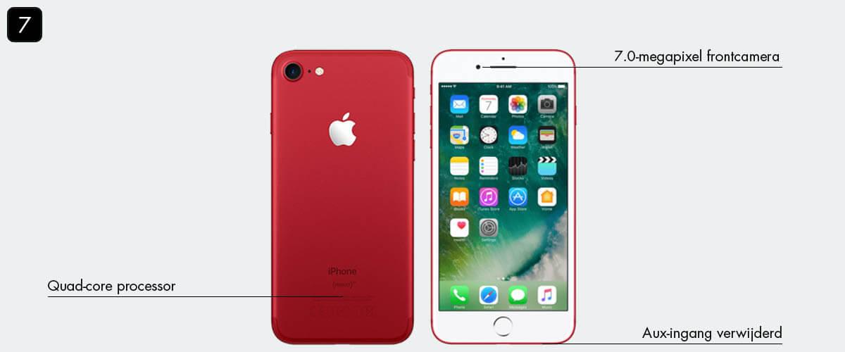 iPhone geschiedenis: iPhone 7
