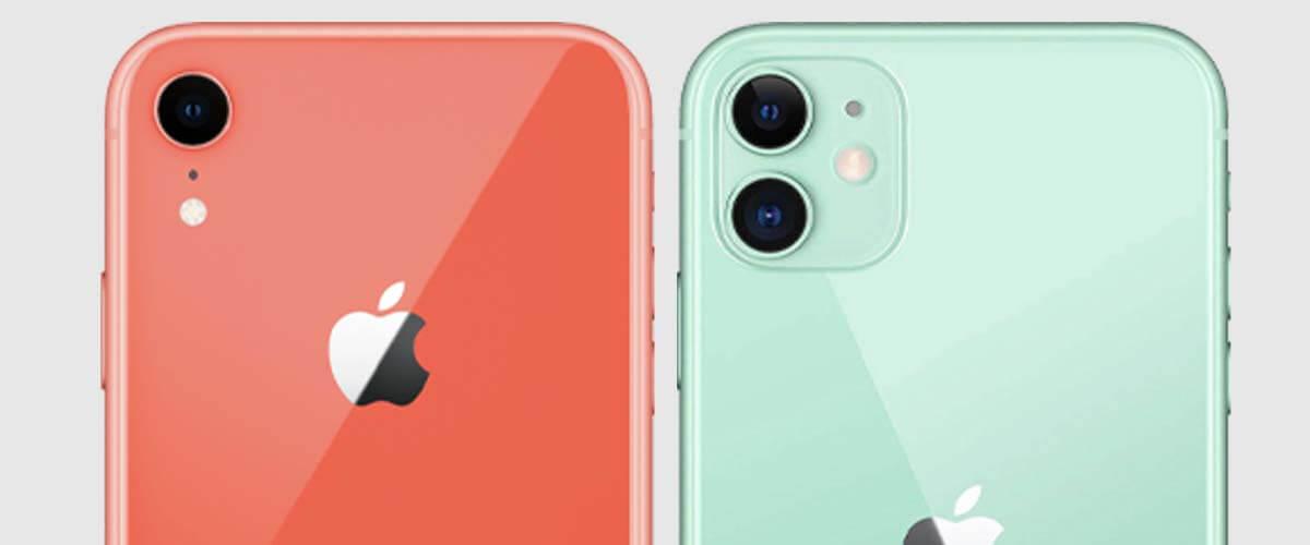 Camera iPhone XR en iPhone 11