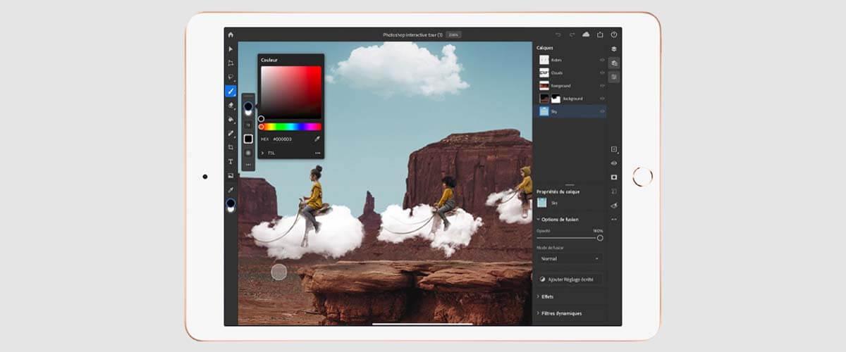 Photoshop op iPad