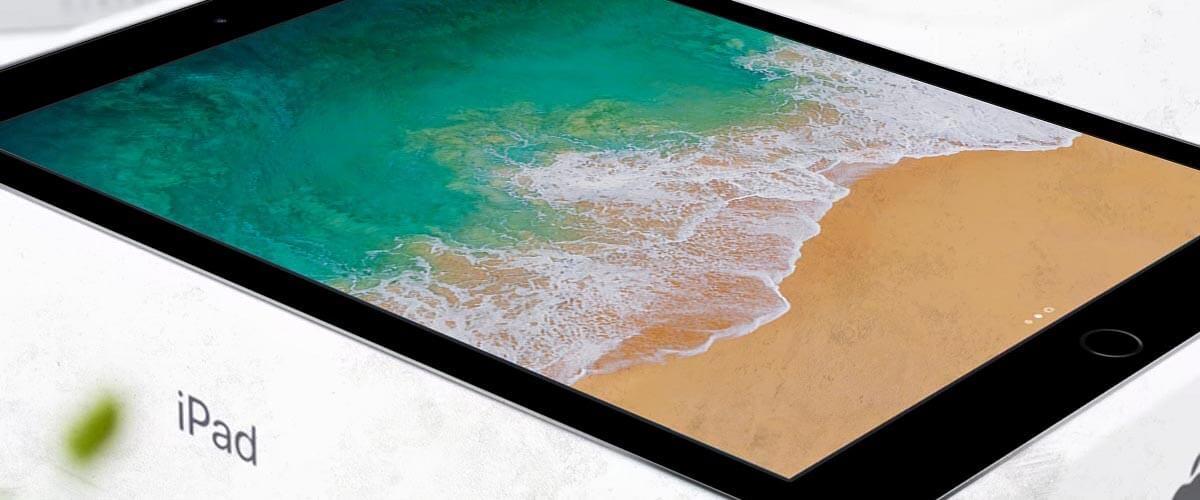 iPad 2018 formaat