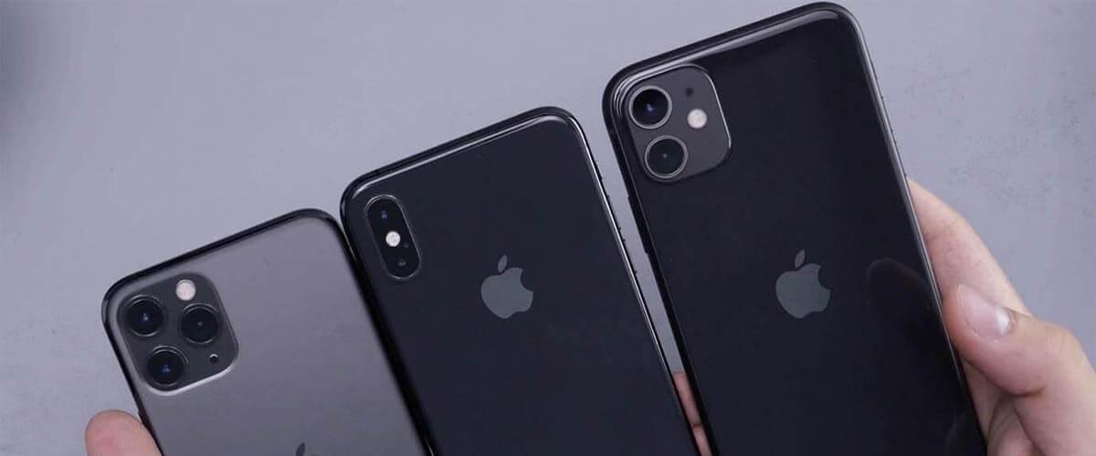 iPhone 11 vergelijken