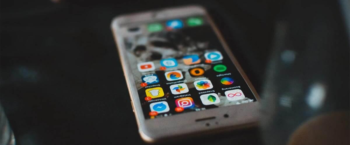 iPhone 8 beeldscherm met True Tone