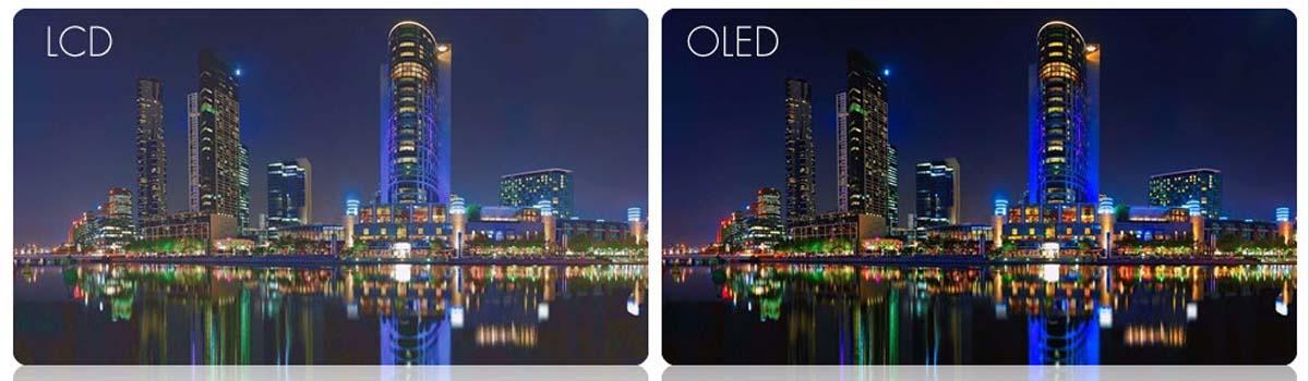 verschil OLED en LCD