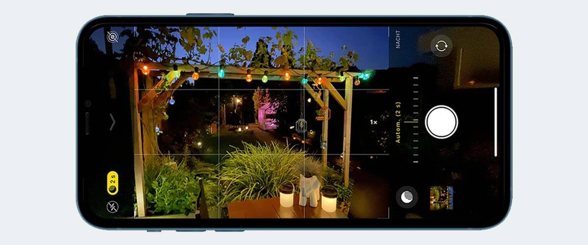 Nachtfoto maken iPhone 11 camera