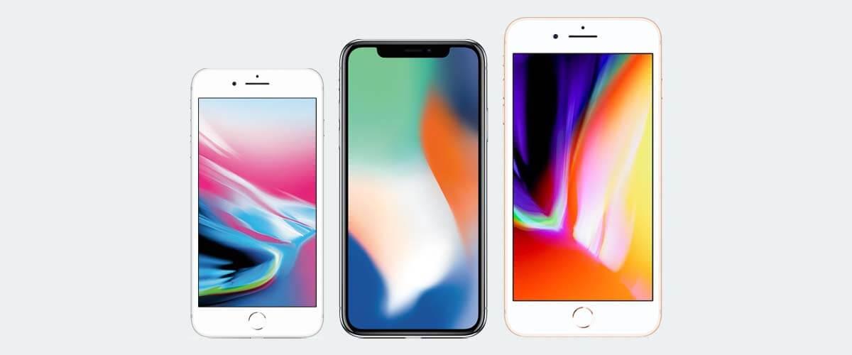 Afmetingen iPhone X vs oudere iPhones