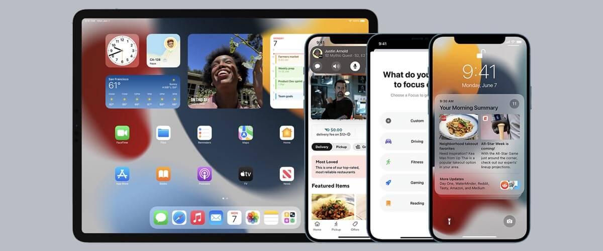 Apple Event iOS en iPadOS 15