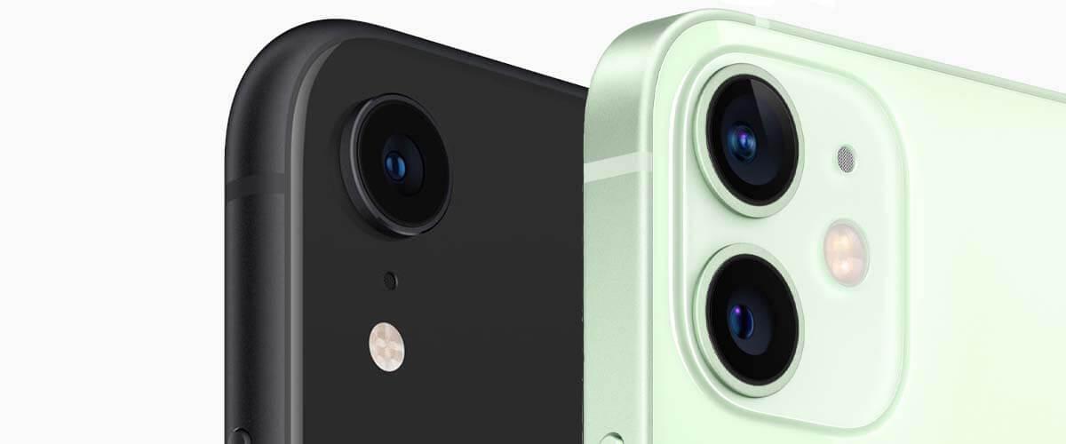 Camera iPhone 8 vs iPhone 12