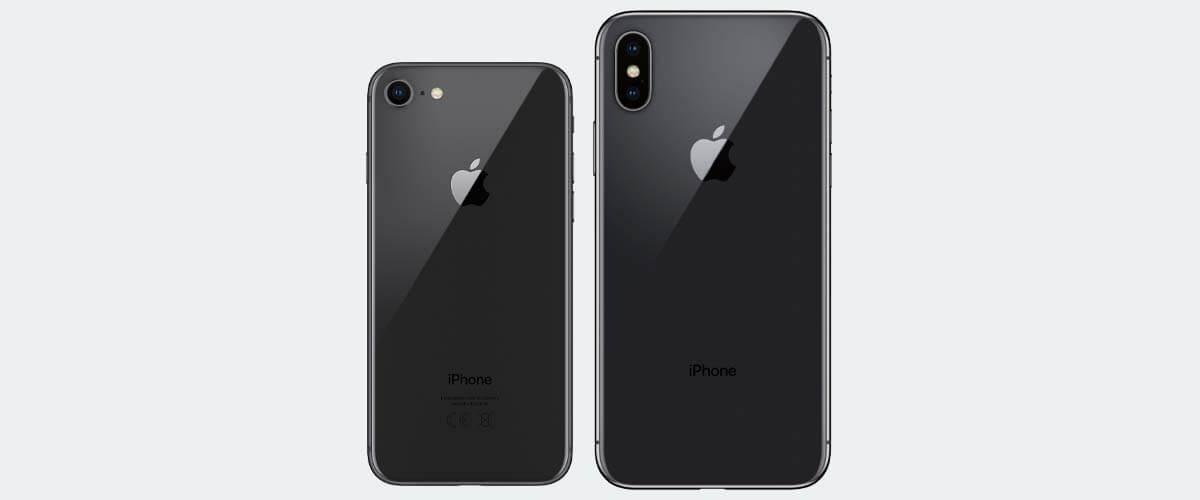 Cameraverschil iPhone X vs iPhone 8