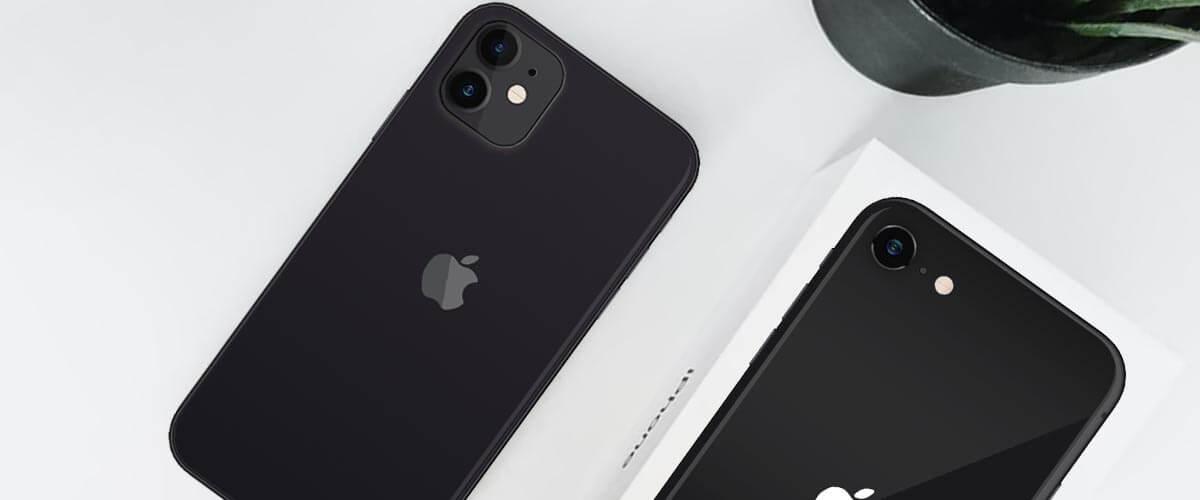 Cameraverschil iPhone SE 2020 vs iPhone 12 Mini
