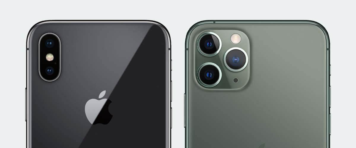 Cameraverschil iPhone 11 Pro vs iPhone X