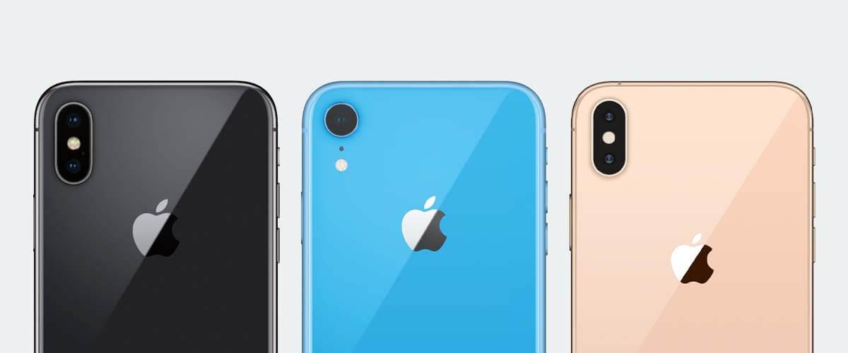 Cameraverschil iPhone X en XR en XS
