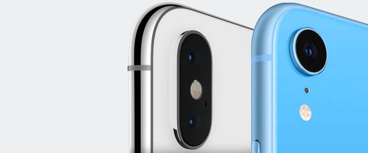Cameraverschil iPhone X en XR