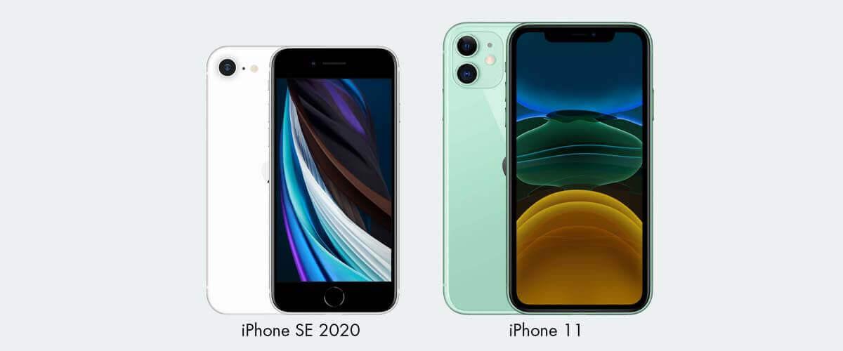 Design iPhone SE 2020 en iPhone 11