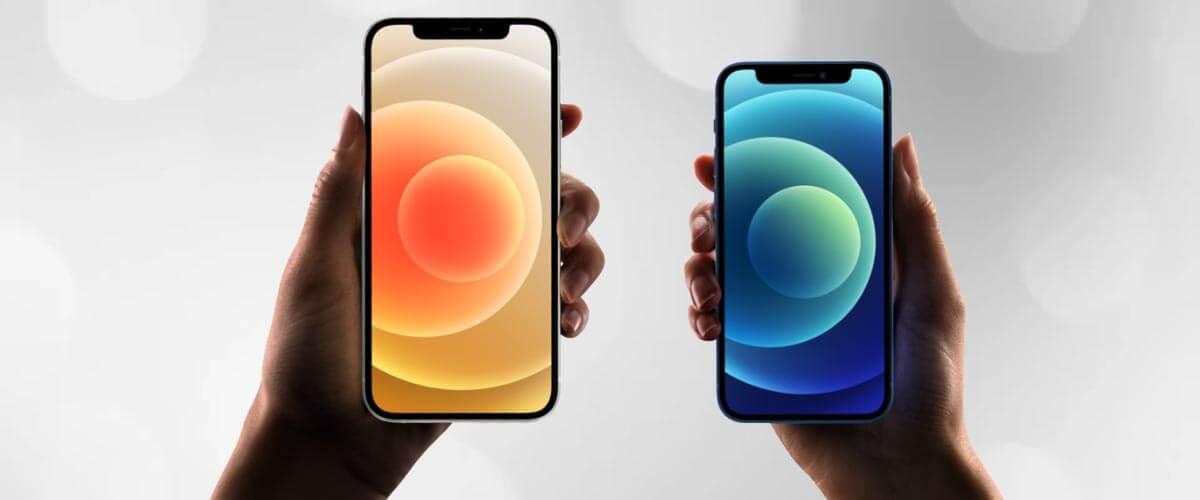 Formaat verschil iPhone 12 vs 12 Mini