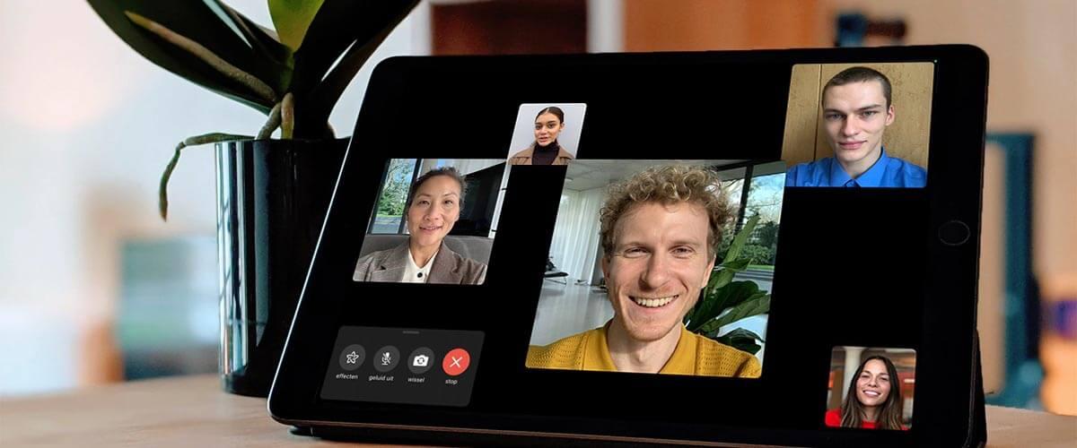 HD FaceTime camera iPad