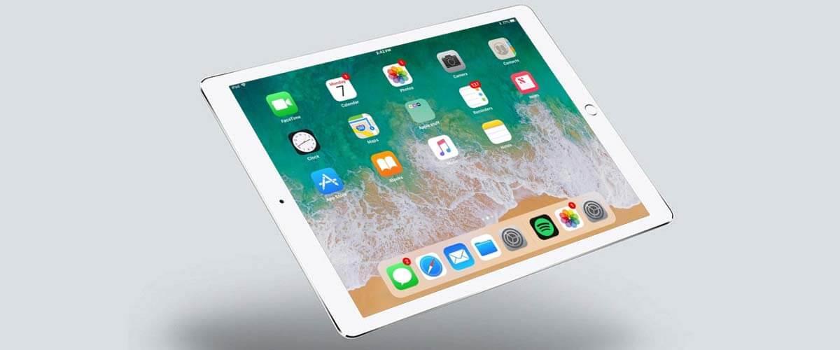 Besturingssysteem iOS op Apple iPad