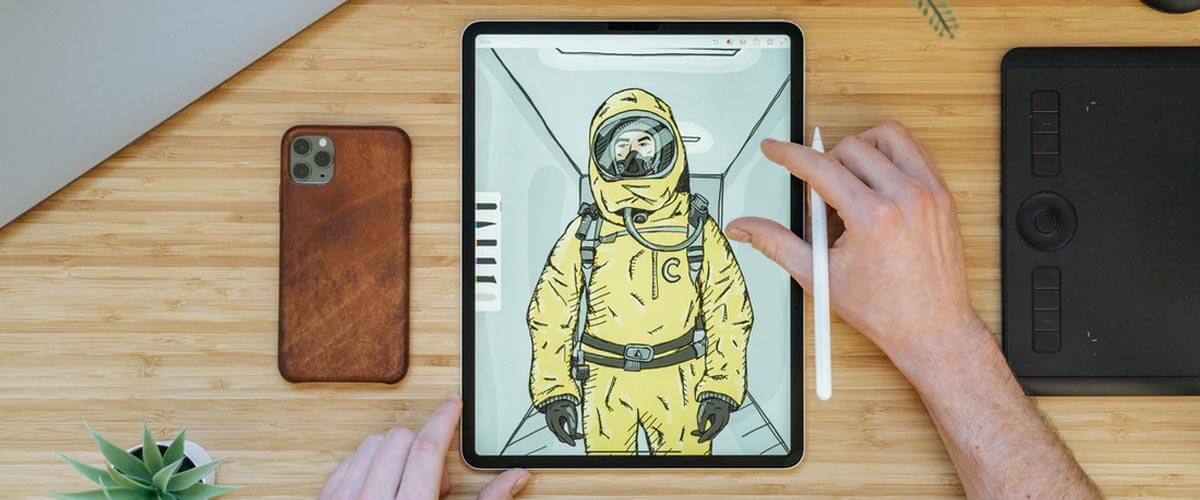 iPad met Apple Pencil