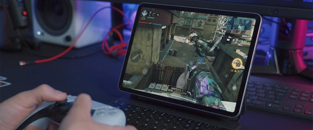 Apple Arcade op iPad met controller spelen