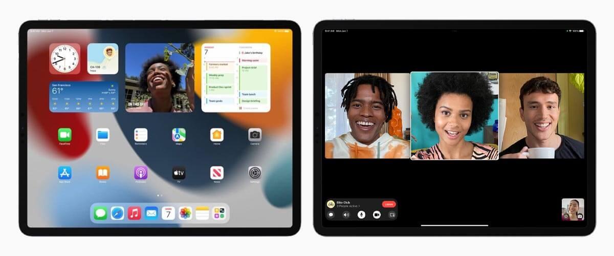 iPadOS 15 functies iPad