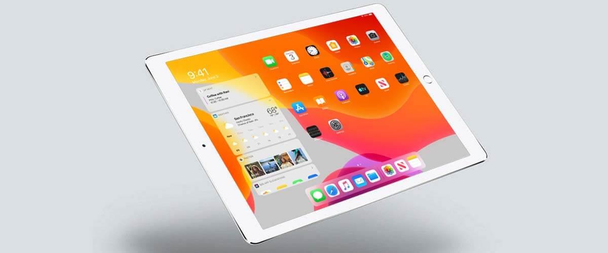 Besturingssysteem iPadOS op Apple iPad