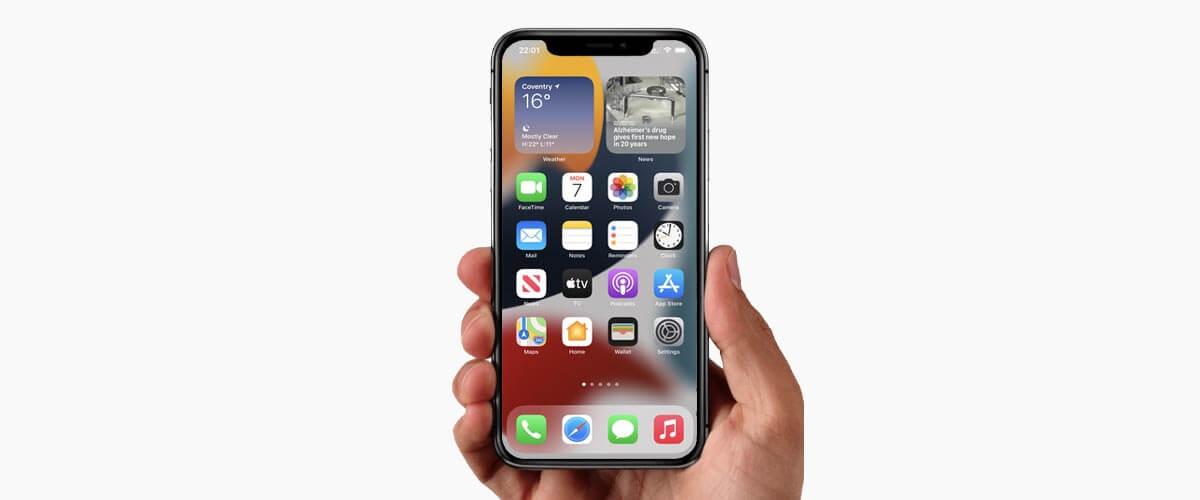 iPhone met 6.1-inch beeldscherm formaat lcd