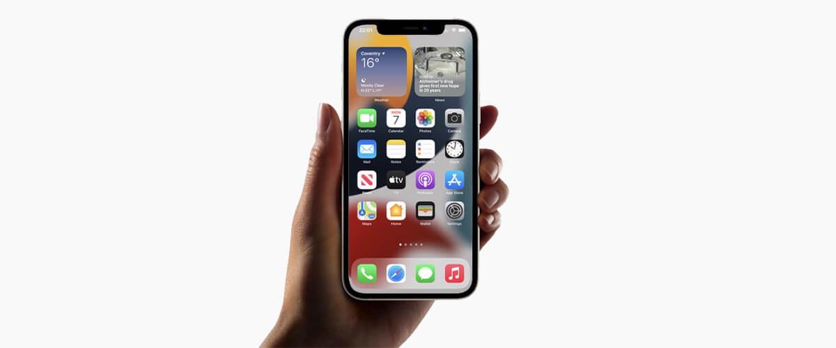 iPhone met 6.1-inch beeldscherm formaat oled