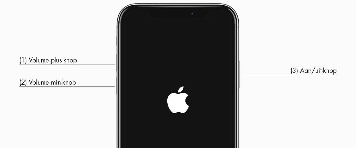 Geen service iPhone resetten