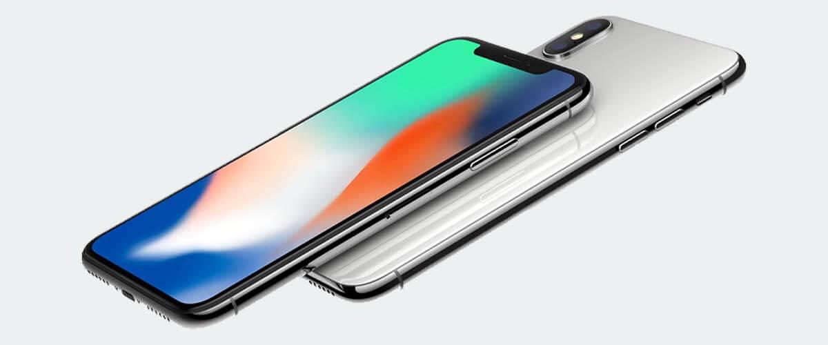 iPhone X beeldscherm
