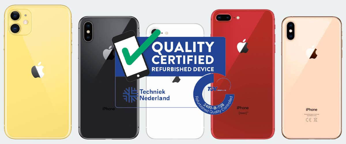 Keurmerk Refurbished iPhone Forza