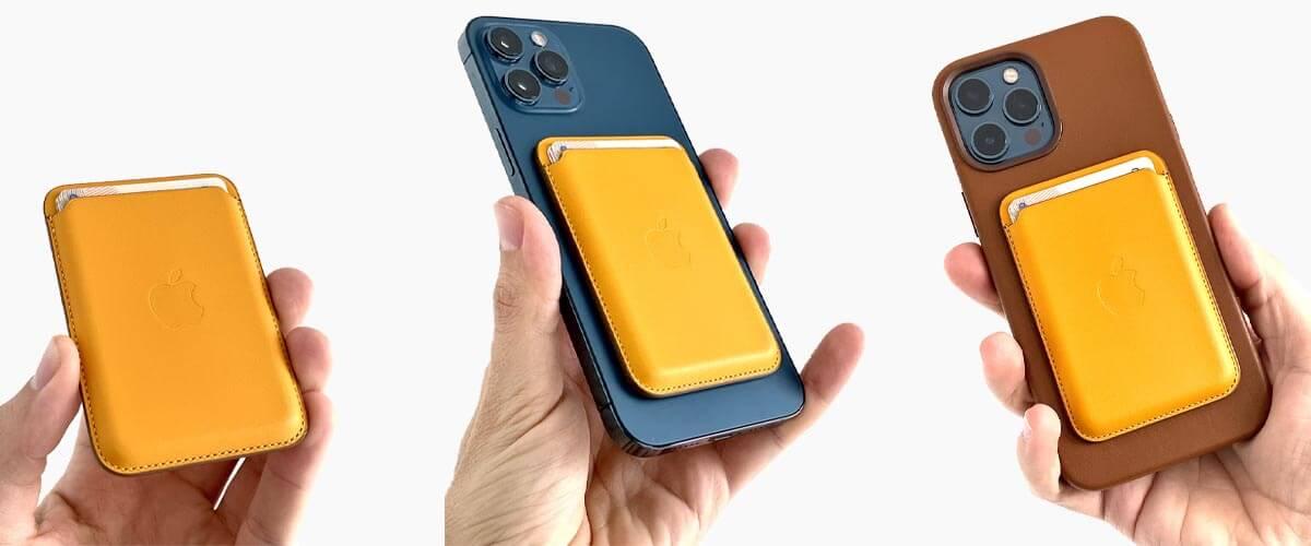 MagSafe hoesje en wallet iPhone 12