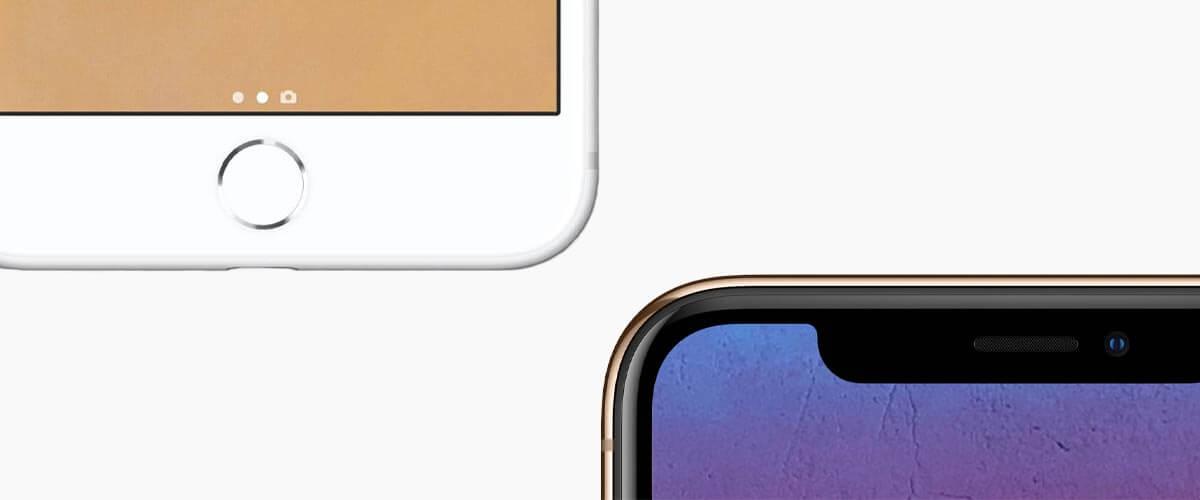Ontgrendelverschil iPhone 8 vs iPhone XS