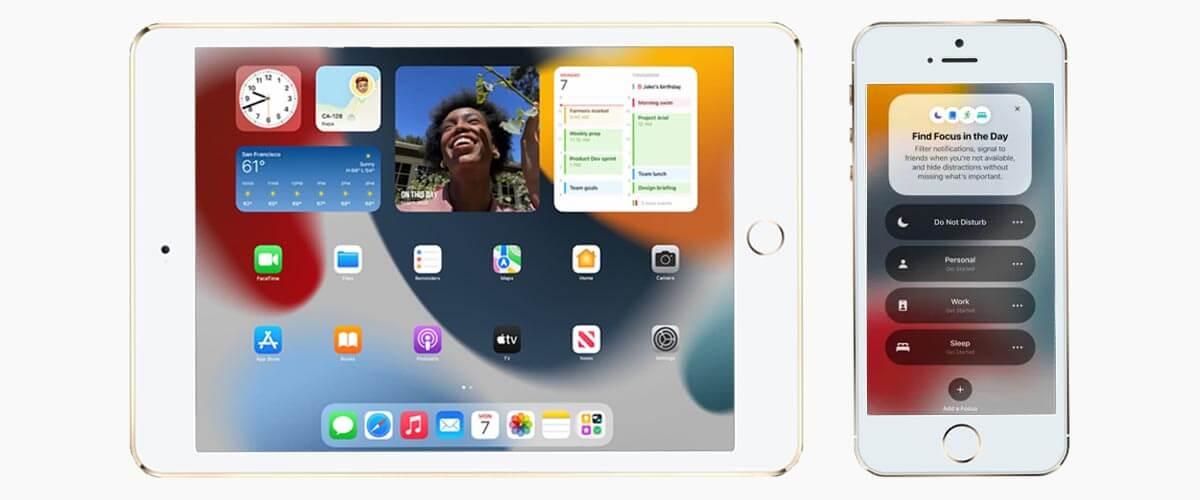 iOS 15 en iPadOS 15 op oudere iPhone en iPad