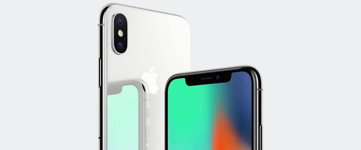 refurbished iPhone X Zilver