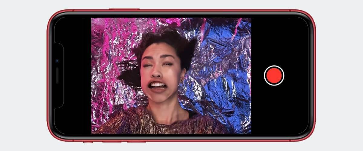 Slofie functie iPhone 11 camera