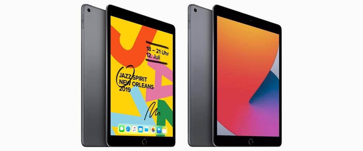 Uiterlijk verschil iPad 2019 en 2020