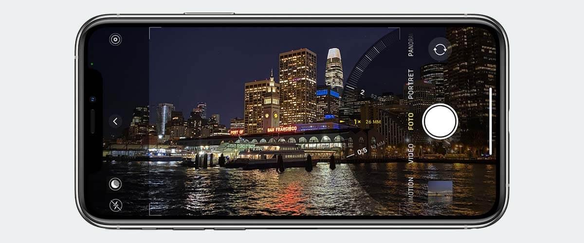 Ultragroothoek foto maken iPhone 11 camera