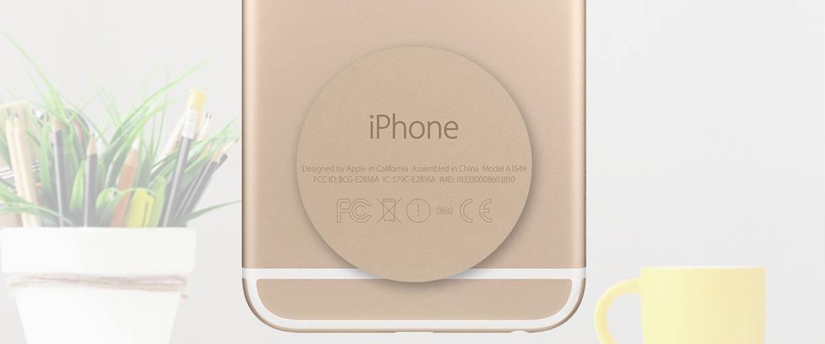 Welke iPhone heb ik opzoeken achterkant