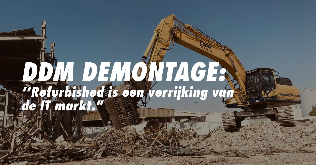 DDM demontage