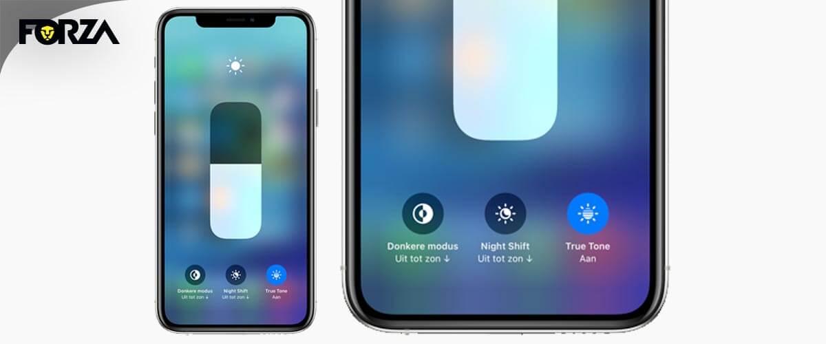 Batterij iPhone snel leeg door fel scherm