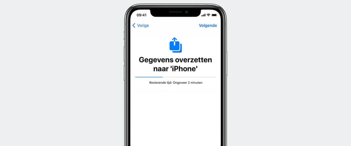 iPhone configureren