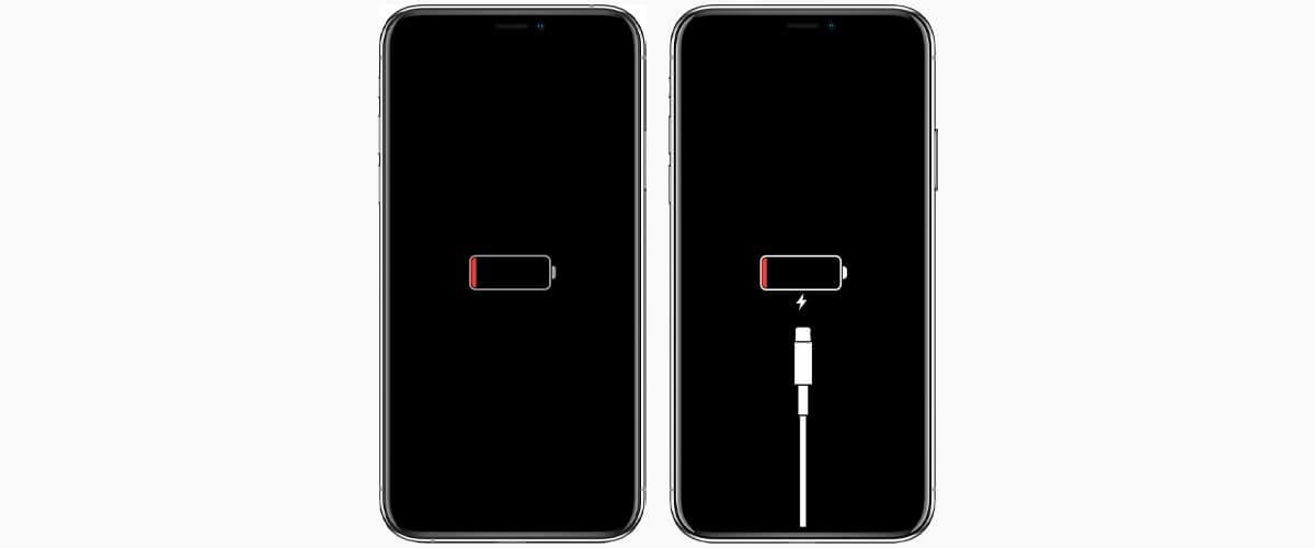 iPhone gaat niet meer aan lege batterij