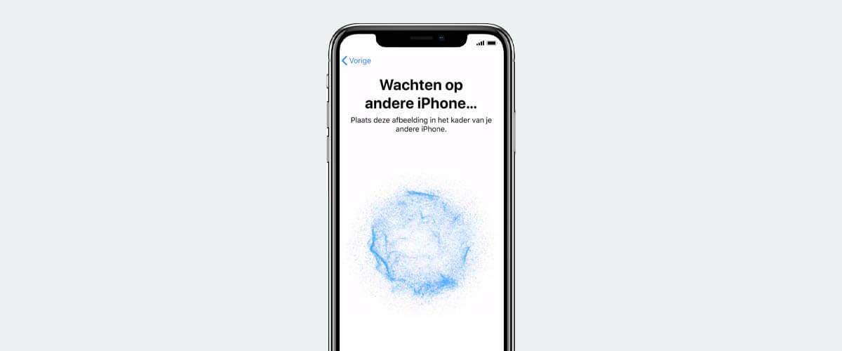 iPhone instellen Begin Direct