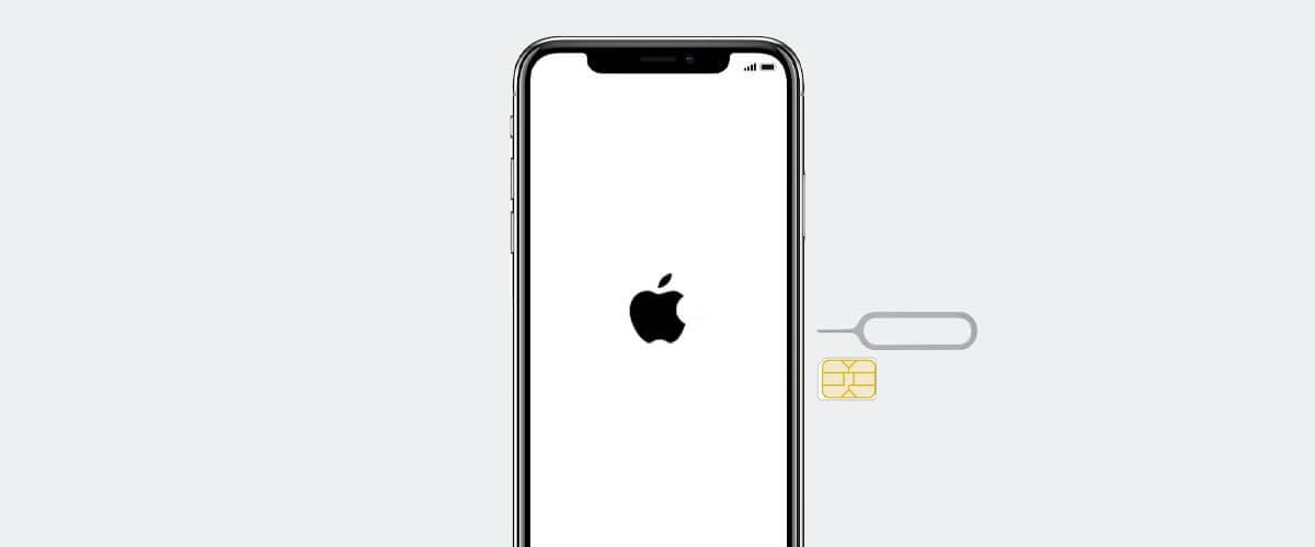 Simkaart in iPhone plaatsen