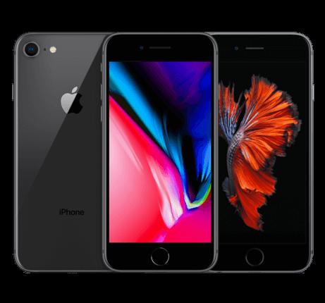 iPhone 8 & 6s