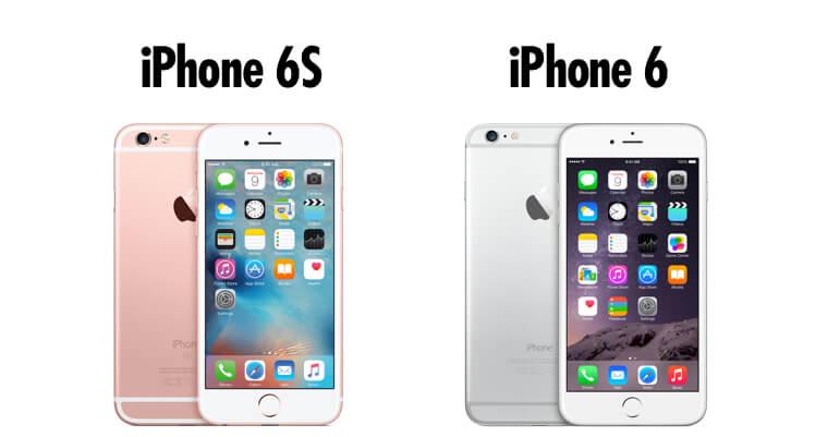 iPhone 6 en iPhone 6S design
