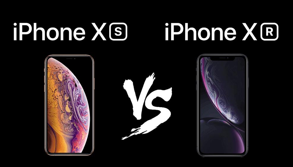 iPhone XR en iPhone XS