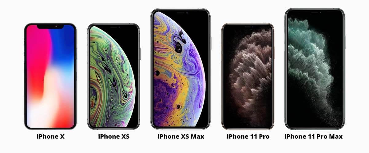 iPhones met Super Retina beeldscherm
