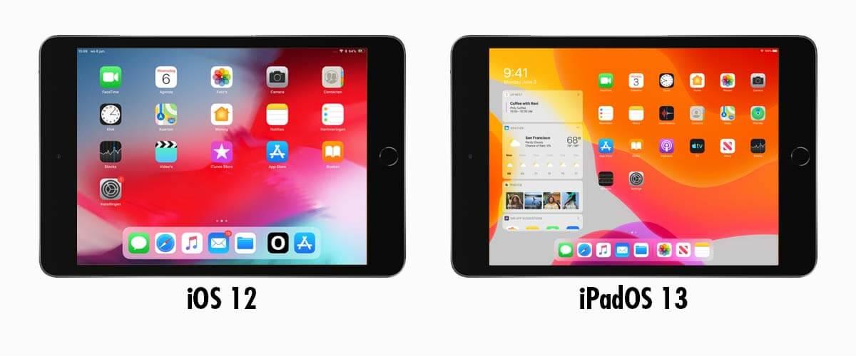 Apple's besturingssysteem iPad Mini