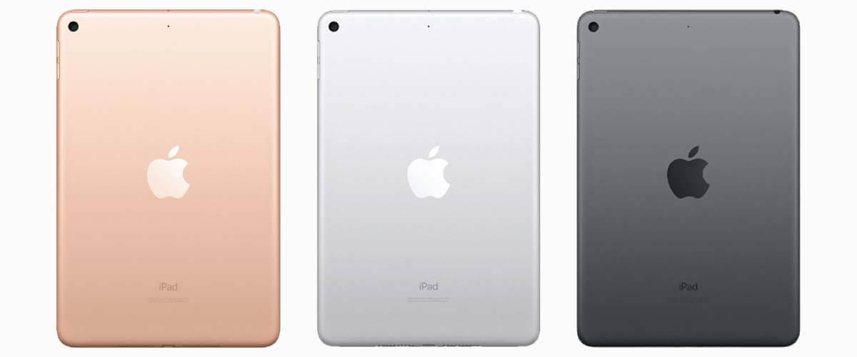 iPad Mini Gold, Silver, Space Grey